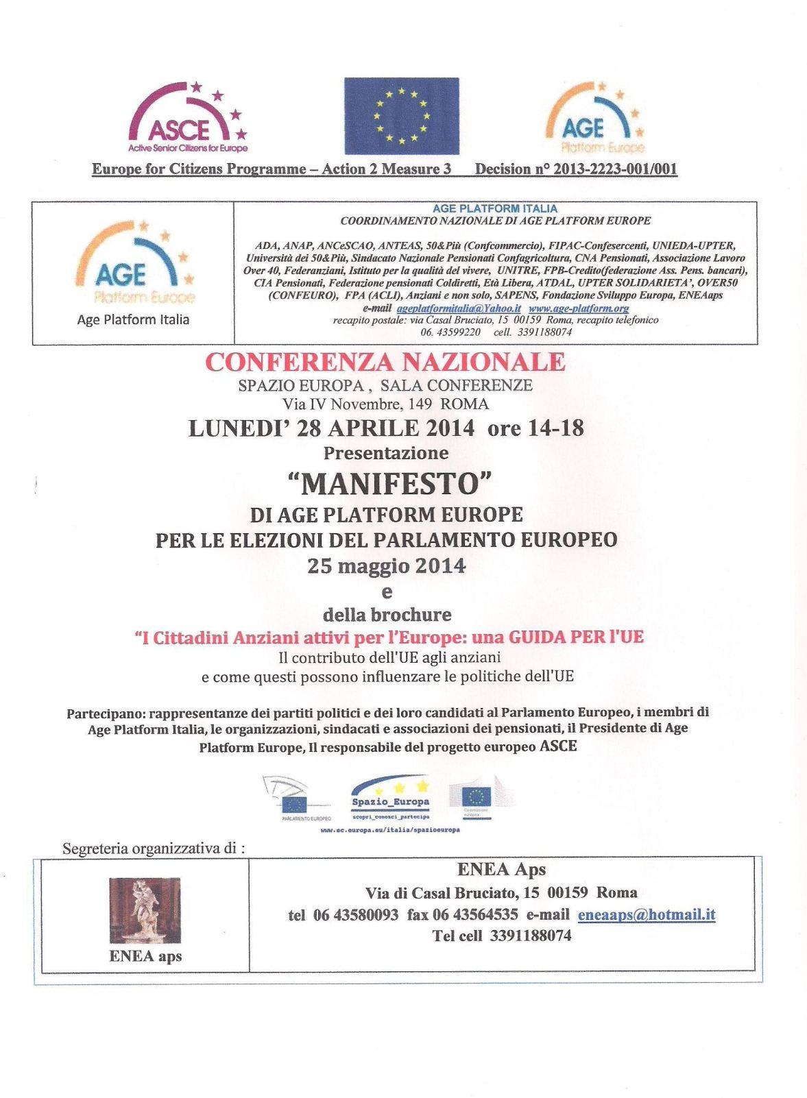 locandina 28 aprile 2014