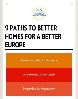 Picture of the Manifesto Housing Europe