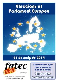 Rètol eleccions europees 2014