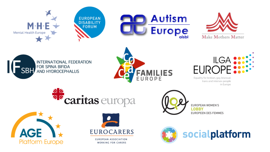 Logos of the signatories of the open letter