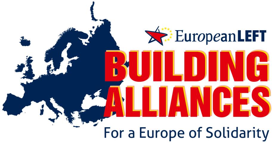 European Left banner