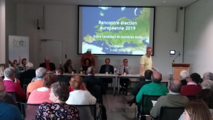 ENEO rencontre élection européenne 2019