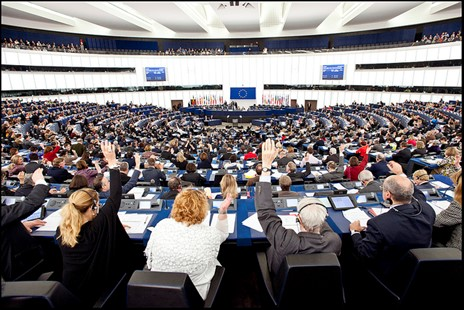 Picture of the European Parliament's Voting Time in Plenary